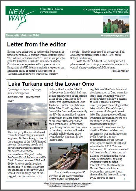 New Ways newsletter