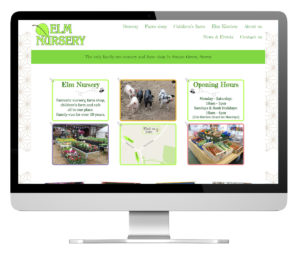 Elm Nursery website
