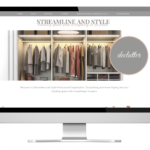 Streamline and style new website