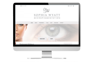 Sophia Wyatt website development