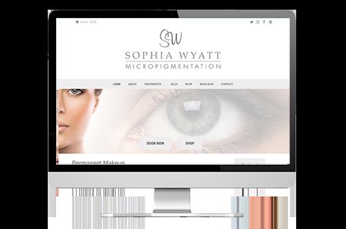 Sophia Wyatt website development