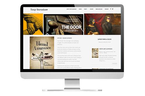 Tony Earnshaw responsive website design
