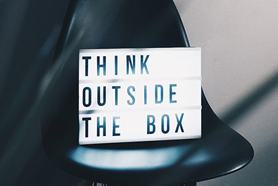 Small business support - think outside the box